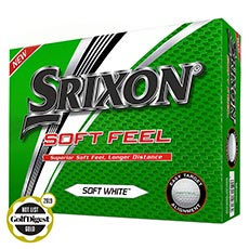 SOFT FEEL GOLF BALLS,Soft White