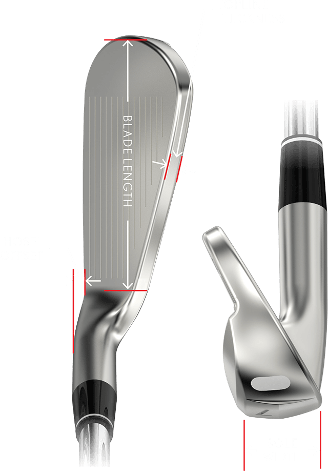 ZX Irons Measure